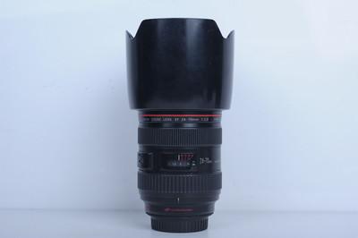 90新二手Canon佳能 24-70/2.8 L USM一代红圈镜头(B3730)【京】