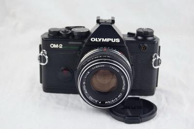 奥林巴斯OM-2sp 50 1.8 套机 收藏好成色
