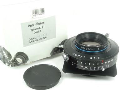 最新款 篮圈 Rodenstock Apo -Ronar 360/F9 极上品带包装