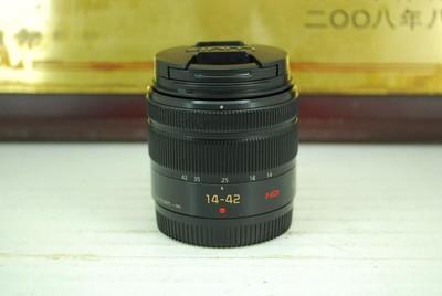 松下 14-42 F3.5-5.6 II 微单镜头 二代 防抖 标配挂机 可置换