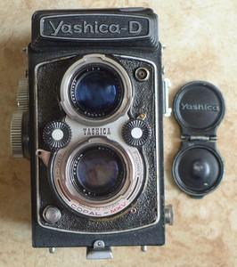 雅西卡 Yashica-D 胶片双反相机