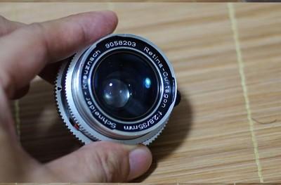 (特价)收藏成色很新德国小广角白银施耐德 Schneider 35mm/2.8