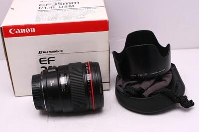 佳能 EF 35/1.4 L 佳能35/1.4 佳能 35/1.4 L 佳能35mm1.4