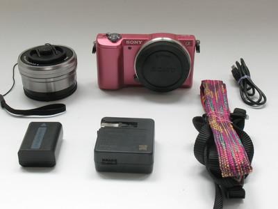 成色很好微单套机索尼a5000带E16-50镜头两电原充快门两千#0339