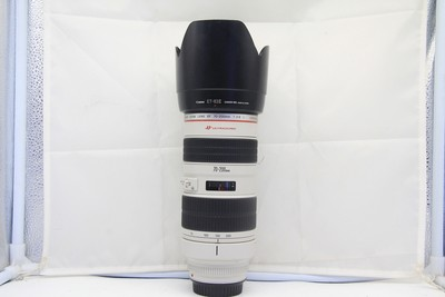 96新二手Canon佳能 70-200/2.8 L 小白变焦镜头(2347)【深】