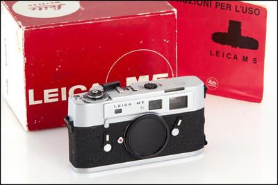 徕卡 Leica M5 少见银色三耳 带包装