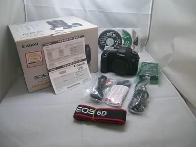 出售 98新 佳能 6D  机身 包装齐全 请看图片