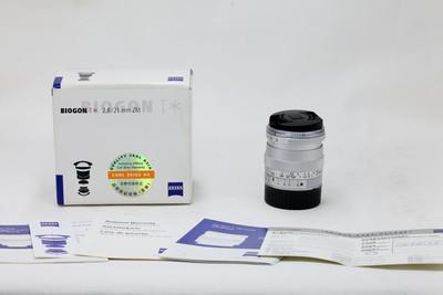 【情迷海印店】【全包装】蔡司 Biogon T* 21/2.8银 ZM(NO:8139)