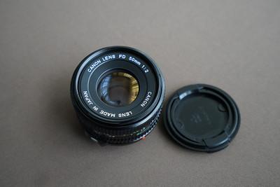佳能 FD 50mm f/2 镜头 可转接全画幅数码微单使用