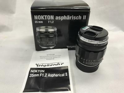 福伦达 NOKTON 35MM F1.2 Aspherical VM II 镜头包装全