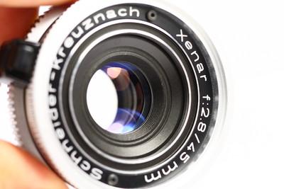 DKL口镜头 德产 Xenar 45/2.8 施耐德 Schneider 小饼干