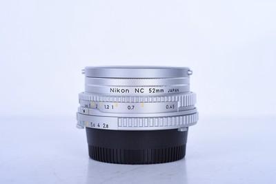 96新二手 Nikon尼康 45/2.8 P 定焦镜头 银色(B3344)【京】