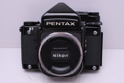 宾得67 宾得 67 Pentax 宾得6X7 宾得120相机 测光取景器 成色好