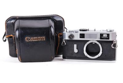 佳能 7S 银色机身 胶片相机  带皮套 #jp17411