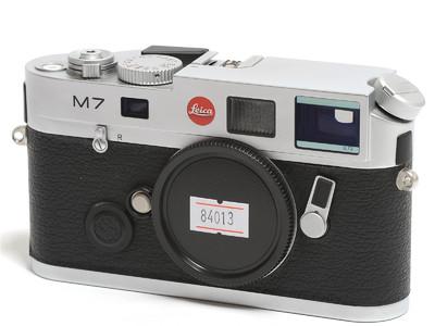 徕卡/Leica M7 0.72 旁轴相机 银色 *超美品*徕卡 M7