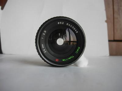 较新图丽24mmf2.8金属制造定焦镜头,PK卡口,可配各种相机