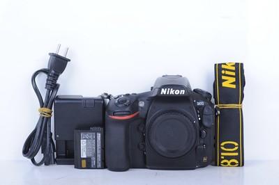 93新二手Nikon尼康 D810 单机 快门19000多次 (B1241)【武】