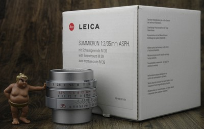 徕卡 35mm f:2 ASPH 11608 L39 螺口复古限量版 极美品