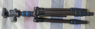 特达TEFOTO 型号DT-552c碳纤维三脚架