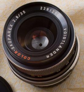 nikon尼康口福伦达全幅广角Voigtlander Skoparex 35 2.8手动镜头