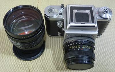 潘太康6 Six TL 带基辅80/2.8+150/2.8镜头 6x6中画幅胶片机