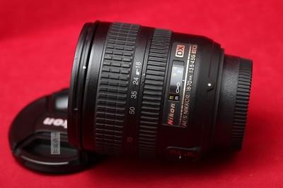 NIKON 尼康 AFS 18-70 3.5-4.5G 标准焦段 套机头 实物拍摄