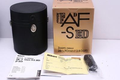 尼康 AF-S 28-70mm2.8 D 尼康28-70/2.8D 尼康28-70/2.8 完美品