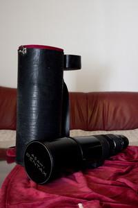 宾得长焦手动镜头 smc PENTAX 500mm F4.5 K口