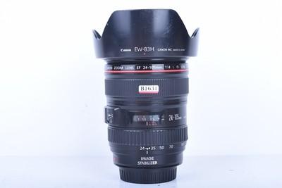 95新二手Canon佳能 24-105/4 L IS USM 防抖镜头(B1631)【京】