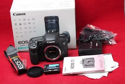 Canon 佳能 EOS 7D 专业数码单反 高速连拍 实物拍摄 难得美品