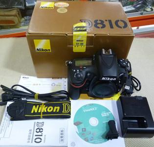 尼康 D810 行货带全套包装