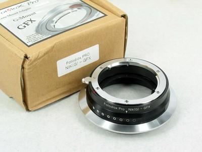美国Fotodiox Nikon G-GFX 尼康转富士 GFX 50S转接环