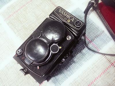 雅西卡 YASHICA Mat124G 双反 中画幅相机 9成新