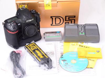 二手尼康D5全画幅XQD版单反相机 包装全套 成色很新 功能正常