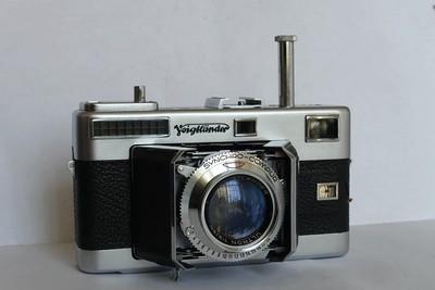 福伦达Vitessa L旁轴折叠相机Ultron 50 2镜头,天线机 石库门