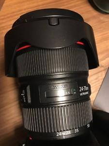 佳能 EF 24-70mm f/2.8L II USM 送B+W UV镜