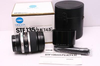 美能达 STF 135/2.8 柔焦 美能达 135/2.8 美能达135/2.8 带包装