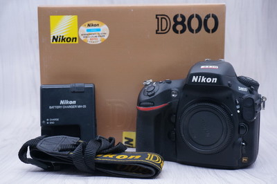 95新带包装尼康 D800 2430