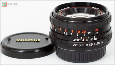 凤凰50mm F1.7 50/1.7 手动标准定焦人像镜头 PK口