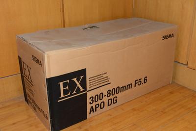 适马 APO 300-800mm f/5.6 EX DG HSM