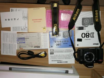 尼康 Nikon D80 自用 原始购物收据