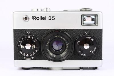 禄来 ROLLEI 35 银色 135胶卷旁轴相机 施耐德 Xenar 萌物