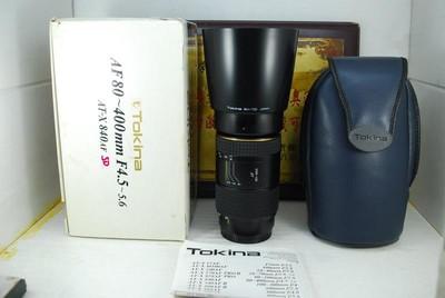 97新 MA口 图丽 80-400 F4.5-5.6 超长焦 单反镜头 远摄