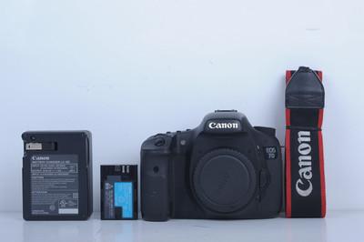 94新二手 Canon佳能 7D 单机 中端单反相机(B3668)【京】