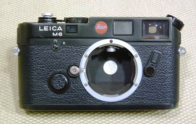 Leica/徕卡 M6 0.72 黑色小盘胶片机