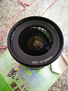 佳能 EF 17-40mm f/4L USM+原厂UV+原厂罩+镜头前后盖