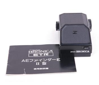 【美品】BRONICA/碧浪之家AE finder II 取景器 for ETR #jp19132