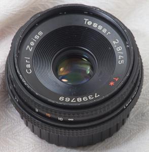 尼康口康泰时蔡司Contax Zeiss Tessar 45 2.8天塞鹰眼镜头1799