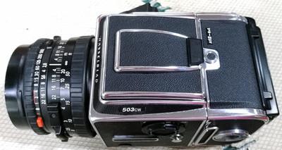 哈苏 503CW +CFE80/2.8 +A12新款后背 银色套机