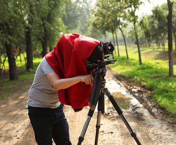 大画幅冠布4X5和810电影机盖机布防水透气防尘遮光好冠布摄影冠布